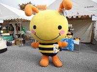 ミツバチみっちゃん(ぬいぐるみ制作の株式会社GSクラフトの企業キャラクター)01.jpg