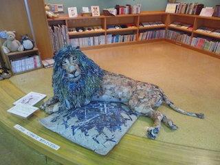 ライオンの立体造形作品.jpg