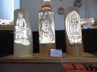 仏様の竹灯篭.jpg