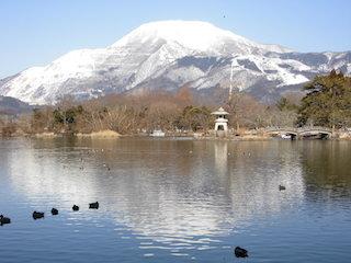 伊吹山の雪景色.JPG
