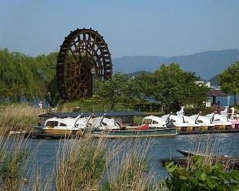 伊庭内湖(能登川水車とカヌーランド).jpg