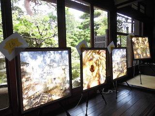 古民家の日本庭園とプペル展.jpg