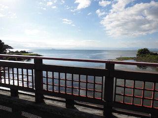 彦根の芹川の河口から見た琵琶湖の景色.JPG