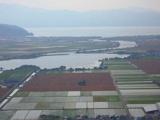 日本の田舎の水田と小麦畑の風景.jpg