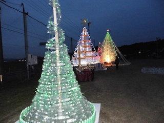 東近江市のライトアップイルミネーションイベント