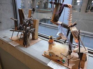 滋賀県東近江市の小学生の立体造形作品展.JPG
