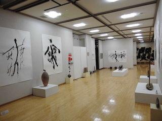 能登川博物館の書の展覧会.jpg
