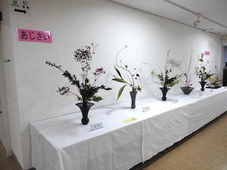 能登川地区文化祭あじさい生け花.jpg