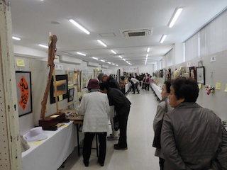 能登川地区文化祭の展示作品