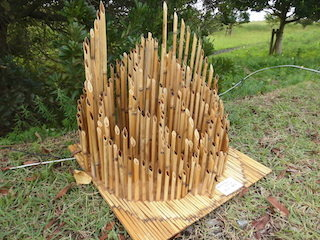葦で作った立体作品.jpg