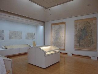 近江の古地図の展示会(能登川博物館ギャラリー).jpg