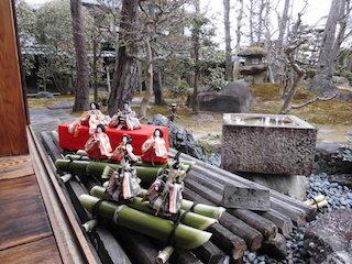 近江商人屋敷外村繁邸の庭園と雛人形.jpg